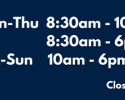 Law Library Hours