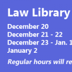 Holiday Hours December 2017