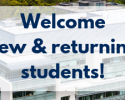 Welcome New & Returning Students